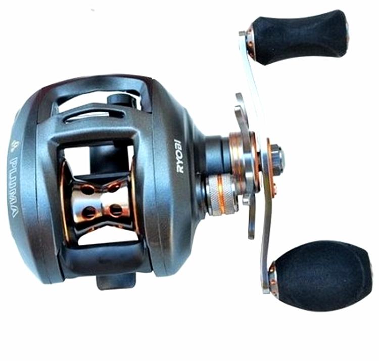 Ryobi 11 bearings water drop reel right hand reel all for Fish drops reels