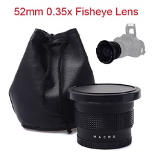 Buy Lightdow 52mm 0.35x Super Fisheye Wide Angle Lens Nikon D7200 D7100 D5200 D5100 D5000 D3100 D90 D60 18-55mm Camera Lens for $19.35 in AliExpress store