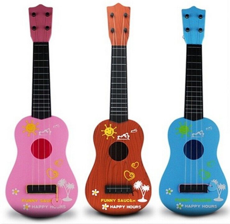 children 39 s toys guitar strings type kids guitar musical instruments early education ukulele toys. Black Bedroom Furniture Sets. Home Design Ideas