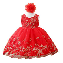 Buy Girl Dress Party Birthday wedding princess Toddler baby Girls Christmas Clothes Children Kids Girl Dresses for $13.60 in AliExpress store