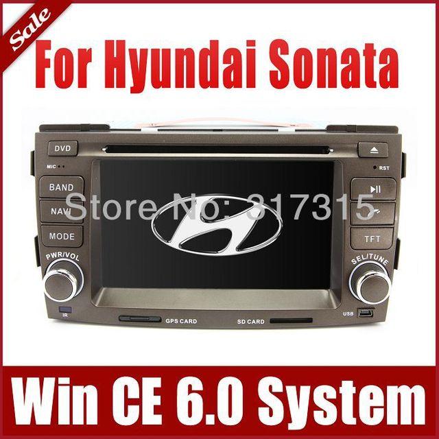 2-Din Car DVD Player GPS Navigation for Hyundai Sonata 2009-2010 w/ Navigator Radio Bluetooth TV Map USB AUX Auto Audio Video