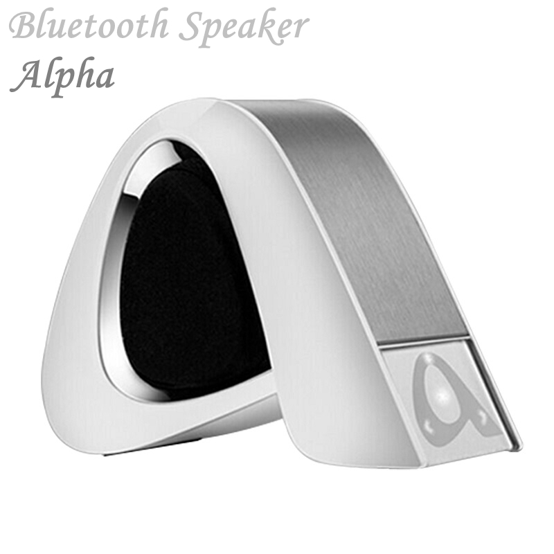 Alpha Shape Mini Portable Wireless Bluetooth Speaker Stereo Wireless Loudspeaker with SD TF Card Slot Hands-free(China (Mainland))