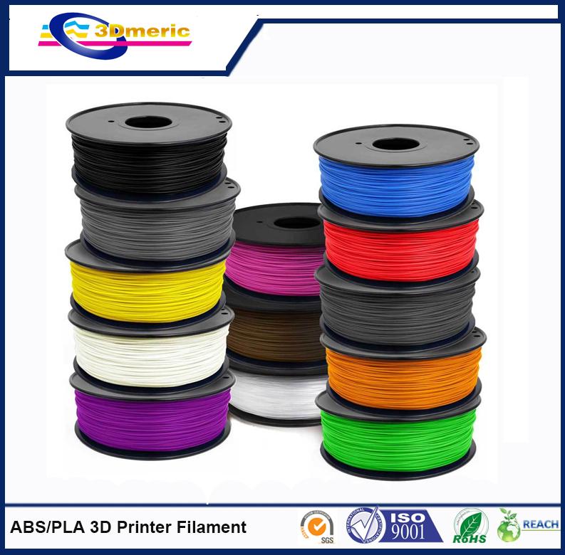 3mm PLA Filament 1kg 2 2lb 3D Printers Reprap MakerBot Replicator 2 Afinia Solidoodle 2 Printrbot