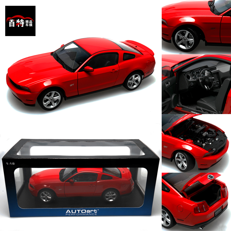 Autoart 2010 Ford Alto 1:18 Mustang GT alloy model car special offer(China (Mainland))