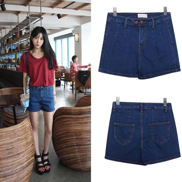Женские шорты Short jeans 2015 Feminino Slim