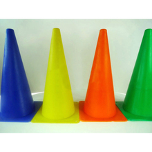 38CM Road Traffic Cone Plastic Barrier Sign Football Pitch Corner Marker Safety(China (Mainland))
