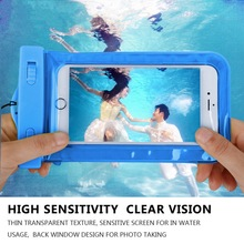 Waterproof Underwater Mobile Phone Case Bag Pouch for iPhone 6 6s plus 5 5c 5s 4s for Samsung galaxy s7 s6 s5 s4 huawei xiaomi(China (Mainland))