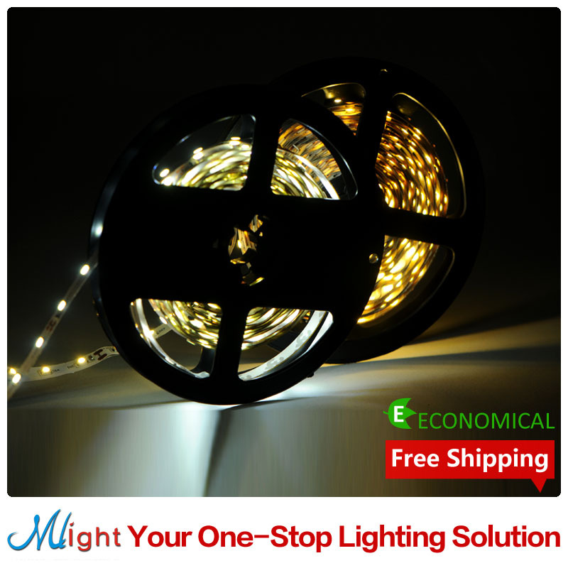5 meters SMD3528 12V LED Strip Light Living Room Decorative Flexible Tape Rope Lights Indoor Lighting(China (Mainland))