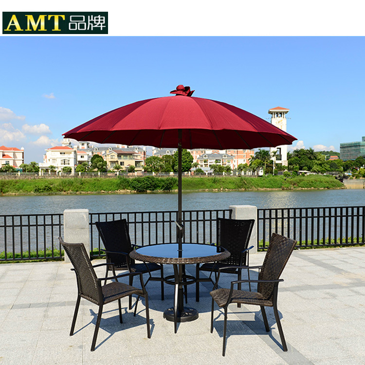 A large outdoor umbrellas patio umbrella booth folding stall round<br><br>Aliexpress