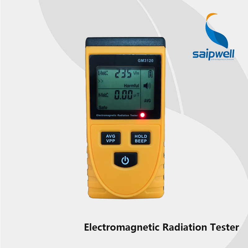 English UI CE Certificated Digital LCD Electromagnetic Radiation Detector Meter Dosimeter Tester Without Battery SPM3120(China (Mainland))