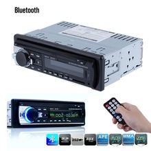 Car Radio Bluetooth 1 DIN In Dash 12V SD/USB IPOD Aux Input FM Stereo Audio Head Unit radios para autos(China (Mainland))