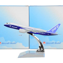 Boeing 787 Dreamliner 16cm Metal Model Prototype Backactor Airplane Models Child Gift Toys Free Shipping(China (Mainland))