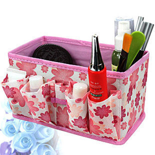 Bling Recommend Free Shipping Top Seller 1pcs/Lot Flowers Woven Cosmetic Storage Box Multicolor Gift For Family F1299(China (Mainland))