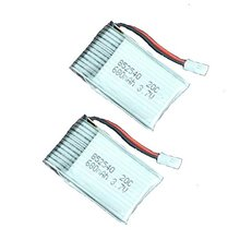 2 x 3.7V 680mAh 20C Rechargeable Battery for Syma X5C X5C-1 RC Quadcopter Drone parts
