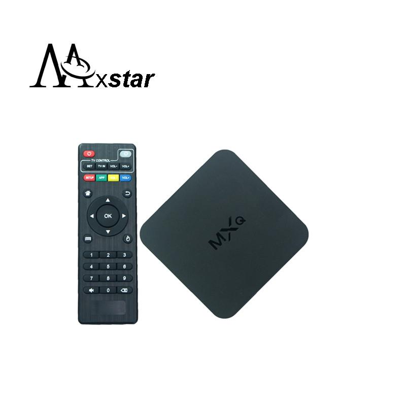 New Original MXQ Android TV BOX Amlogic S805 Quad Core IPTV Android 4.4 H.265 full loaded KODI/XBMC better than MX, M8, CS918(China (Mainland))