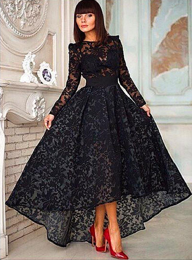 Black dress for prom night - Black Dress For Prom Night 29