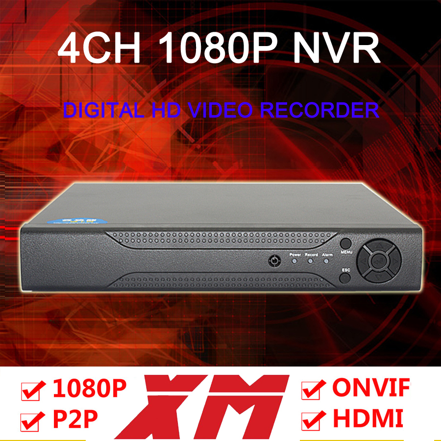 Two Pieces A Lot XM Progarm Hisiclion Sensor DaHua Exterior 1080P/960P/720P  HD Digital 4 Channel DVR NVR FreeShipping<br><br>Aliexpress