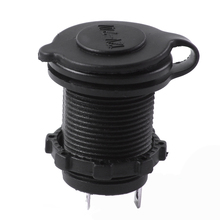 12v Waterproof  Accessory Power Socket Car Motorcycle Cigarette Lighter Plug New #L0192570
