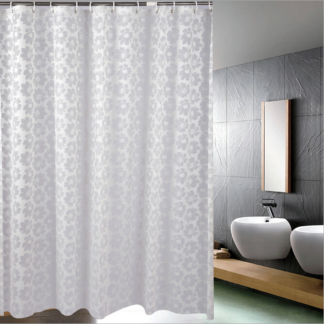2015 hot sale new flower pattern eva fabric waterproof for Hotel drapes for sale