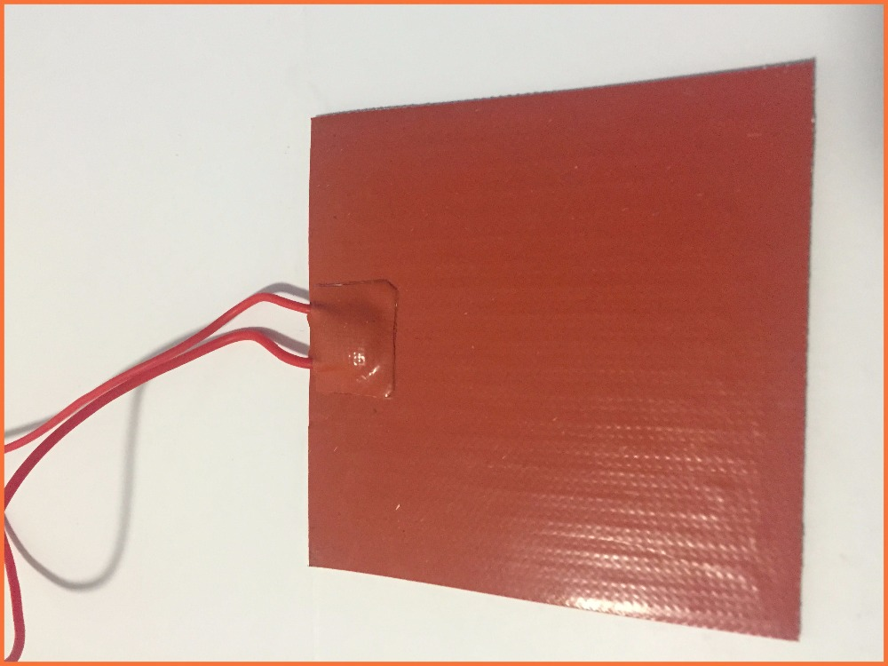 Silicone heating pad heater 120V 600W 280mmx280mm 5A for 3d printer heat bed 1pcs(China (Mainland))