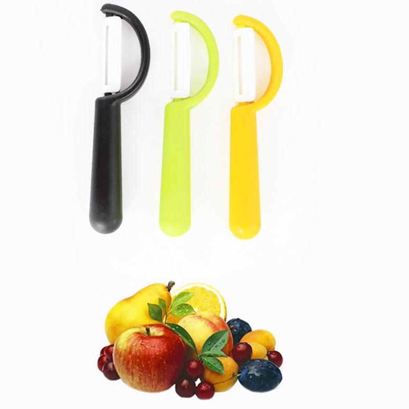 Sharp Knife Ceramic Fruit Vegetable Peeler Radish Potato Cutter Kitchen Cutlery #49341(China (Mainland))
