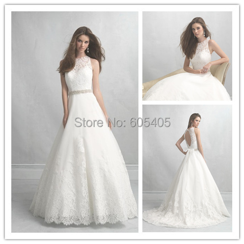 Sexy Open Back Lace Wedding Dresses Bridal Gowns with Cap Sleeves Ball Gown High quality 2015 New Arrived Robe De Mariage(China (Mainland))