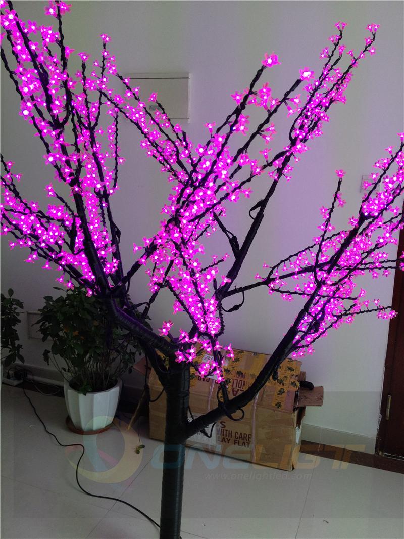 LED Christmas Tree 2M LED Cherry Blossom Tree Light Waterproof Landscape Lighting(China (Mainland))