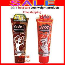 2014 Free shipping YILI BOLO BODY CHILI+COFFEE(1+1=2pcs/set) SLIMMING GEL CREAM Fast Loss Weight Product ,weight loss creams