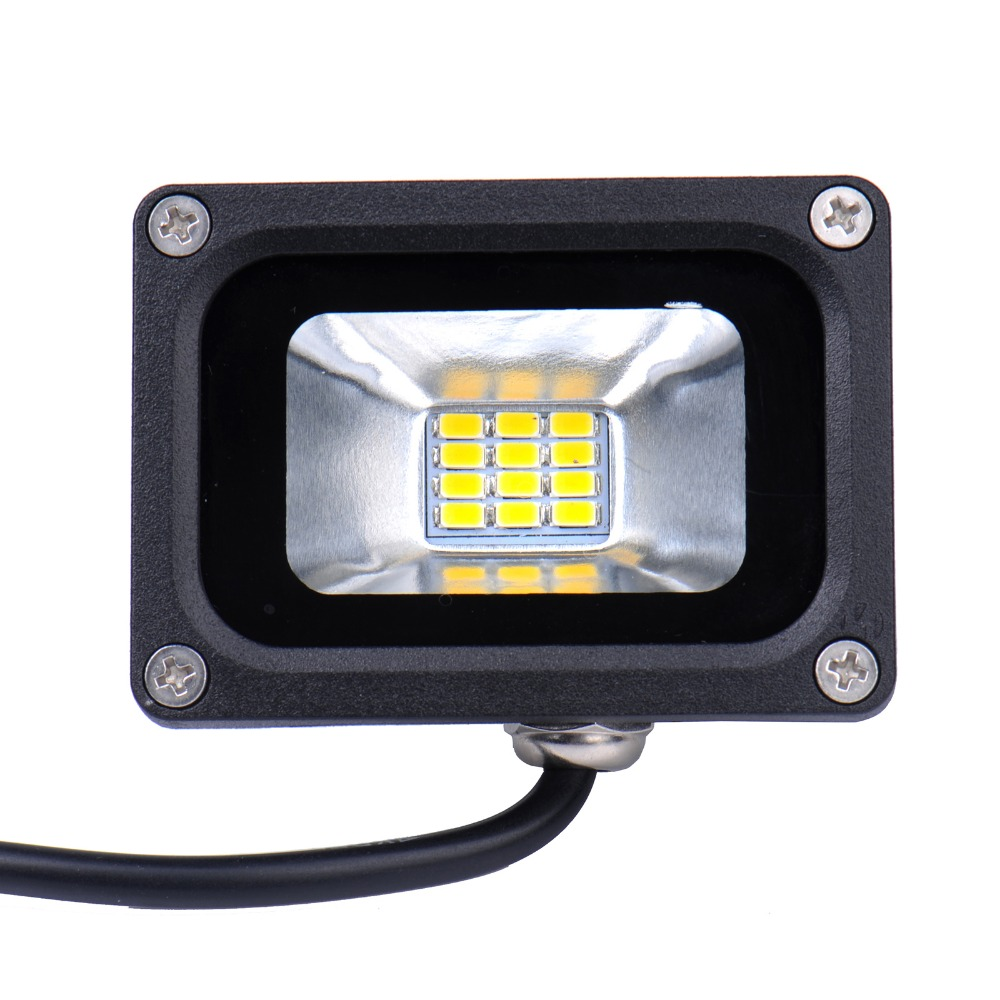 1 Pieces Mini 10W LED Flood Light Waterproof Floodlight Landscape Lighting Lamp Warm White IP65 High Luminous Efficiency<br><br>Aliexpress