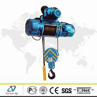 Dongqi CD type 16 ton lifting height 9m electric hoist with hook(China (Mainland))