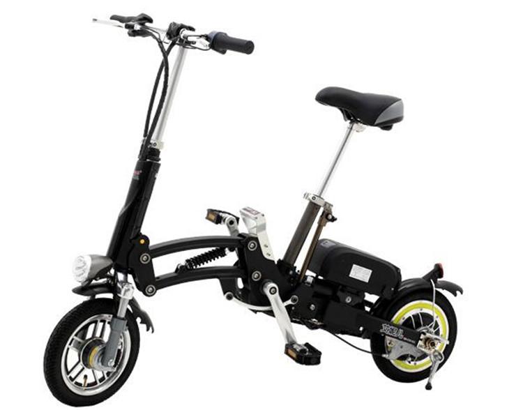 pk02/Love China / folding electric bike / electric car fashion mini portable power / 36v12A / 350W/(China (Mainland))