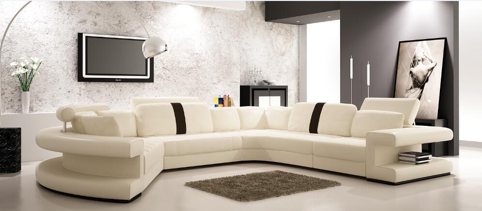 Promoción de gran sofá de la esquina de alta calidad ...