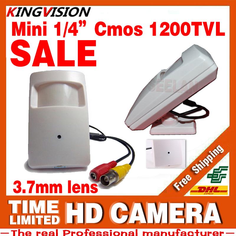Cone Infrared Probe 3.7mm Lens MINI Camera 1/4CMOS 1200TVl HD CCTV hidden Security Surveillance Color ahdl Video HAVE Bracket(China (Mainland))
