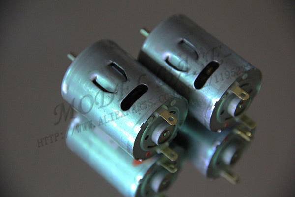 2x Rs380 380 Brushed Motor For Diy Rc Model Electric Car