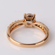 Fashion Wedding Elegant 18K Gold Plated Rings Jewelry AAA Cubic Zirconia Rings For Women New 2014