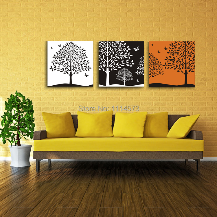 Lucky Tree Silk Canvas Poster Painting Bedroom Home Art Photo Picture Christmas Modern Decoration Wall Stickers Decals No  Frame(China (Mainland))