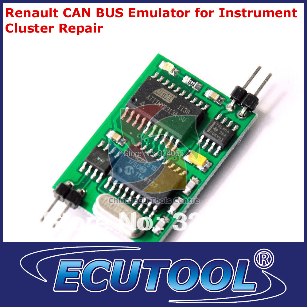 Top Quality Renault CAN BUS Dashboard Emulator for Instrument Cluster Repair - HKP Free Shipping(China (Mainland))