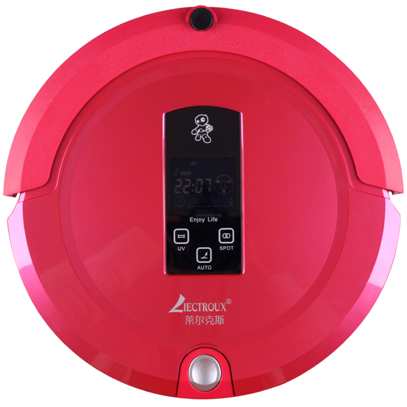 (Free to Russia)Multifunction Robot Vacuum Cleaner(Sweep,Vacuum,Mop,Sterilize),Touch Screen,Schedule,2Way VirtualWall,SelfCharge