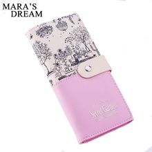 Buy Mara's Dream Brand Leather Wallet Women Wallets Ladies Card Purse Clutch Female Carteras Mujer Monederos Women's Bag Feminina for $3.99 in AliExpress store