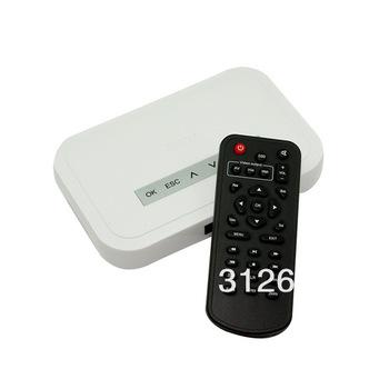 NBOX HDTV HD Media TV Player RM RMVB DivX HDD SD USB HD , free shipping