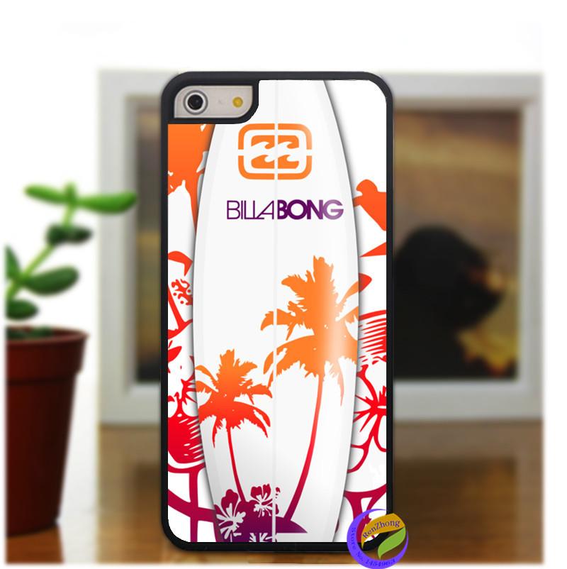 Billabong Surfboards Sunset Surf fashion case cover for iphone 4 4s 5 5s se 5C se 6 6 plus 6s 6s plus 7 7 plus & 6plus(China (Mainland))
