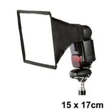 The high quality!External flash softbox mini diffusers 15cm *17cm diffusers 15* 17