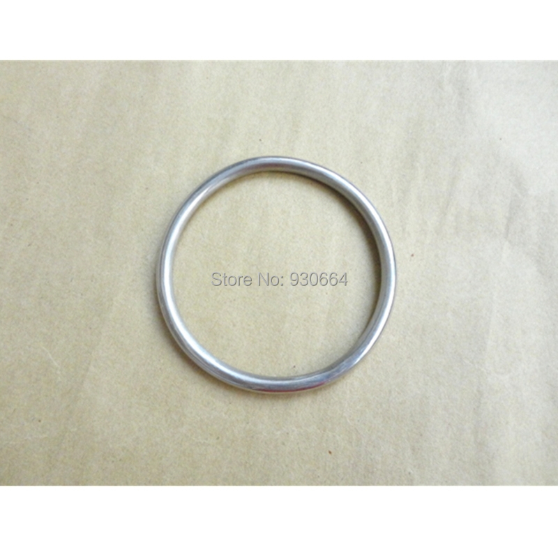 Pcs lot stainless steel o ring hardware round buckles