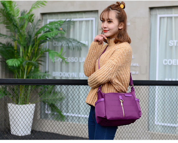 2017 Fashion All Match Brand Oxford Messenger Bag New Casual Women Shoulder Bag Waterproof Lady Small Crossbody bag