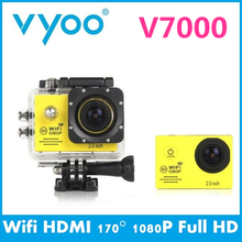 Hot Sale vyoo Brand V7000 WIFI Sport Camera 1080P Full HD Extreme Camera 170 Degree Wide Angle Waterproof Action cam go pro(China (Mainland))