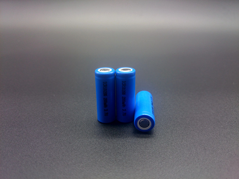 High performance 4pieces/lot special size 10*28mm electronic lithium batttery iCR10280 3.7V 170mAh rechargeable battery(China (Mainland))
