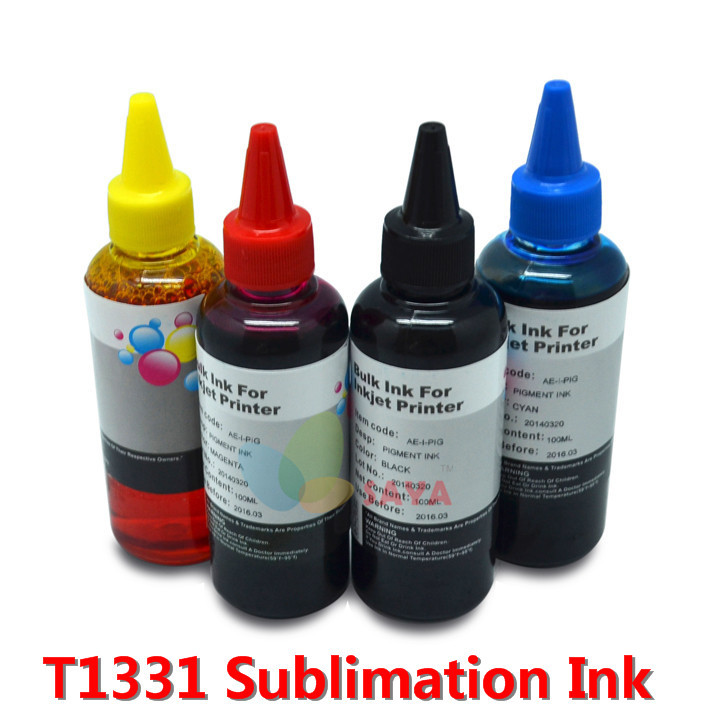 400ml T1381 Heat Transfer Sublimation Ink for Epson Stylus TX235/TX420W/ TX430W TX320F TX325F/TX525FW heat transfer paint ink