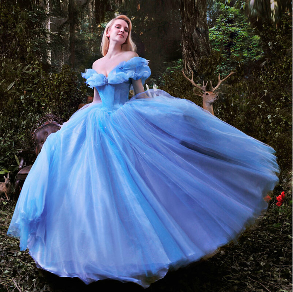 Mansa cinderella wedding dress adult cinderella costumes for Cinderella wedding dress up