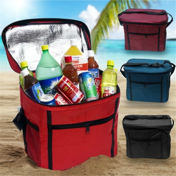 High quality Outdoor Oxford Insulated Picnic Lunch Dinner bag Ice pack Cooler Ice Camping & Hiking Sports & Leisure Bags 899(China (Mainland))