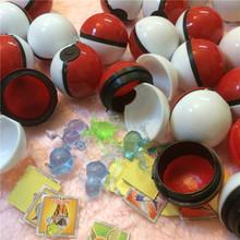 36pcs/lot pokebolas Monsters XY Ball Crystal Pet Action Figures Mega Bulk Pokeball Pikachu Stickers Plastic Game Ball Kid Toy